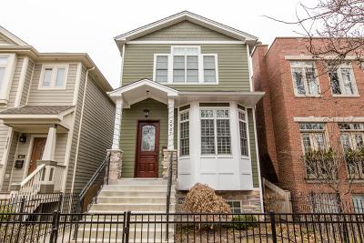 Chicago Single Family Home New: 2427 West Winona Street