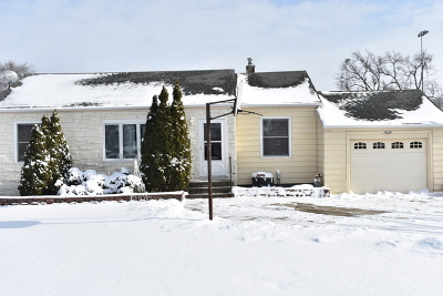 Justice  Single Family Home For Sale: 7639 Oak Grove Avenue