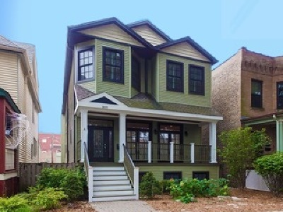 Chicago Single Family Home New: 1835 West Berenice Avenue