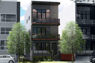 Chicago Condo/Townhouse New: 877 North Marshfield Avenue #1