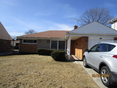 Niles Single Family Home New: 7844 North Harlem Avenue