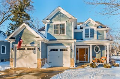 Wheaton Single Family Home Price Change: 627 East Evergreen Street