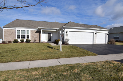 Huntley Single Family Home New: 14482 Burgundy Way