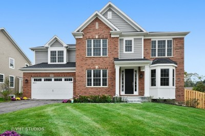 Wheaton Single Family Home New: 1055 Northridge - Lot #12 Court