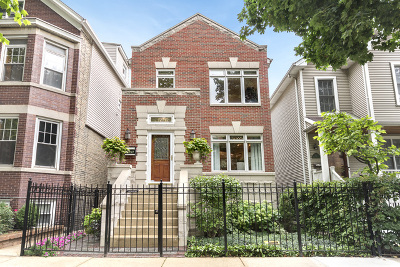 Cook County Single Family Home New: 1526 West Melrose Street
