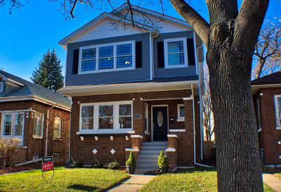 Oak Park Single Family Home Price Change: 1219 North Taylor Avenue