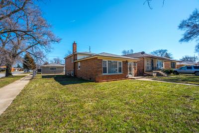 Dolton  Single Family Home New: 14501 Avalon Avenue