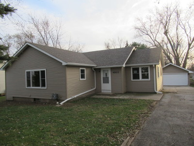 McHenry Single Family Home New: 4803 McCullom Lake Road