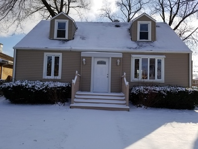 Oak Lawn  Single Family Home New: 5659 West 88th Street