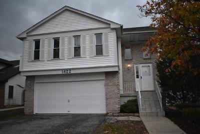 Carol Stream Single Family Home New: 1422 Spring Valley Drive