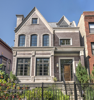 Cook County Single Family Home New: 3452 North Greenview Avenue