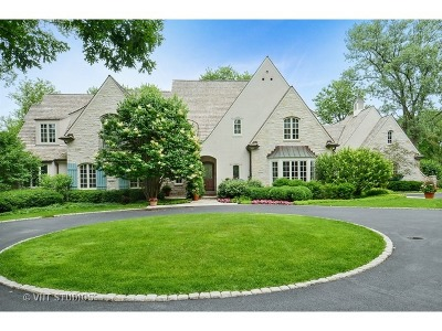 Lake Forest Single Family Home For Sale: 1531 Telegraph Road