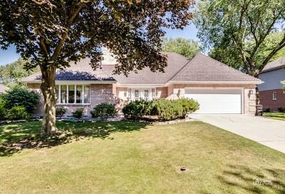 Burr Ridge Single Family Home For Sale: 7621 Ridgewood Lane
