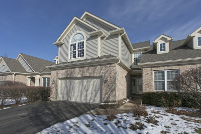 Lake In The Hills Condo/Townhouse For Sale: 3960 Willow View Drive