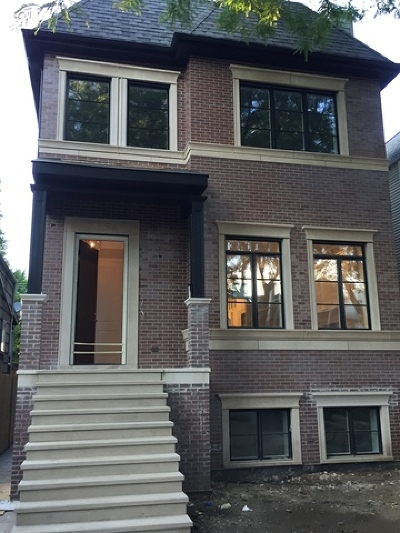 Single Family Home For Sale: 2256 West Cullom Avenue