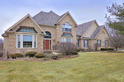 McHenry Single Family Home For Sale: 7705 Burr Oak Drive