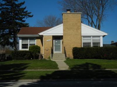 Oak Lawn  Single Family Home New: 10946 South Knox Avenue