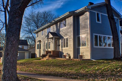 Western Springs Single Family Home Price Change: 1426 Maple Street