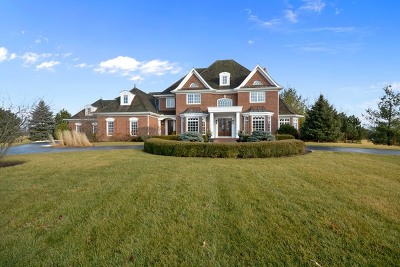 St. Charles Single Family Home For Sale: 5n659 Fairway Drive