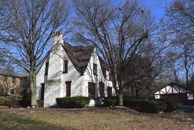 Flossmoor Single Family Home For Sale: 1019 Brassie Avenue