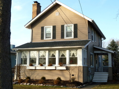 Lombard Single Family Home Price Change: 116 West Greenfield Avenue