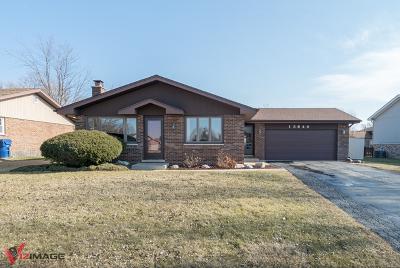 Homer Glen Single Family Home For Sale: 13640 Ironwood Circle