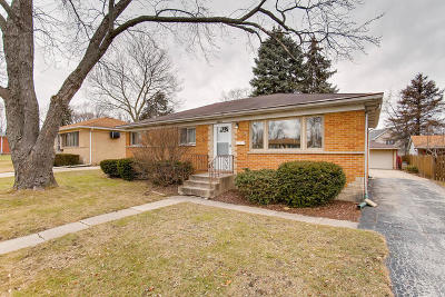 Mount Prospect Single Family Home For Sale: 1810 West Lincoln Street
