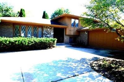 Darien Single Family Home For Sale: 7547 Exton Street