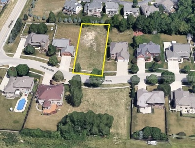 Homer Glen IL Residential Lots & Land Price Change: $109,900