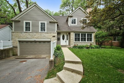 Wilmette Single Family Home For Sale: 1117 Hibbard Road