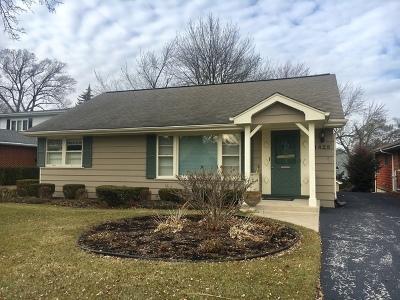 Western Springs Single Family Home For Sale: 1428 Oak Street