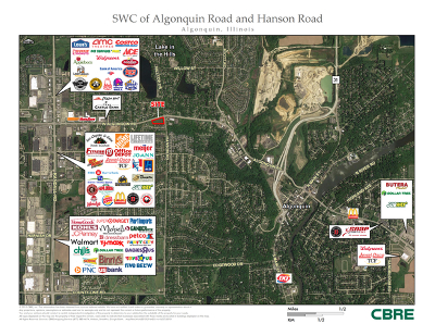 Algonquin Residential Lots & Land For Sale: Swc Algonquin & Hanson Road