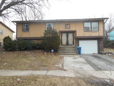 Sauk Village Single Family Home Contingent: 1800 217th Place