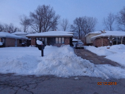 Dolton Single Family Home Contingent: 1612 156th Street