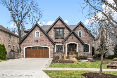 Glen Ellyn Single Family Home Contingent: 308 Hawthorne Boulevard