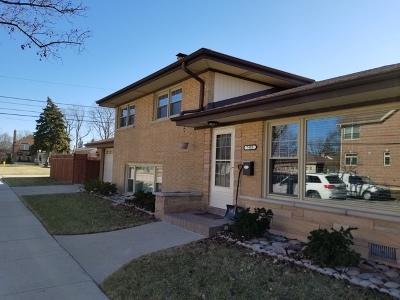 Niles Single Family Home Price Change: 7455 West Monroe Street
