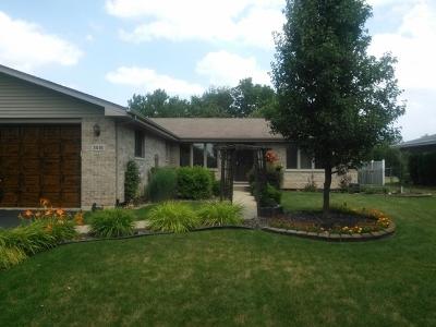 New Lenox Single Family Home For Sale: 3416 Edgecreek Drive