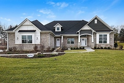Burr Ridge Single Family Home For Sale: 8350 Waterview (Lot 3) Court