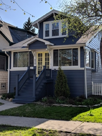 Oak Park Single Family Home Price Change: 829 Home Avenue