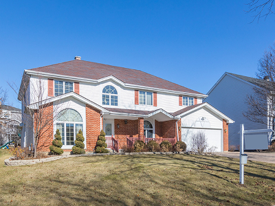 Carol Stream Single Family Home For Sale: 761 Provincetown Drive