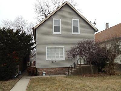 Blue Island Multi Family Home For Sale: 12934 Mozart Street