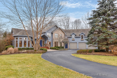 St. Charles Single Family Home For Sale: 43w485 Sanctuary Trail