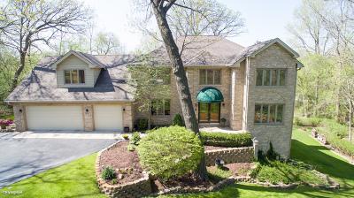 Palos Park Single Family Home Price Change: 11548 South Walnut Ridge Drive