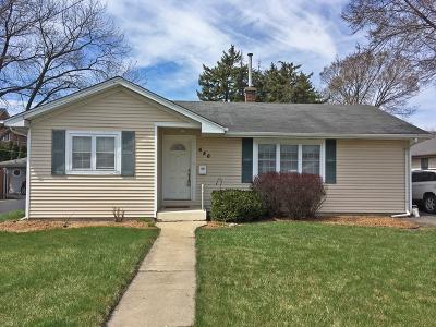 Elmhurst Single Family Home For Sale: 656 South York Street