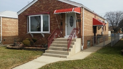 Calumet Park Single Family Home For Sale: 12319 South Ada Street