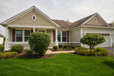 Huntley Single Family Home For Sale: 12544 Golf View Drive