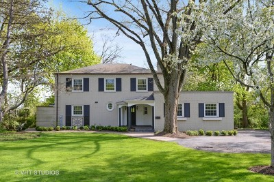 Winnetka Single Family Home For Sale: 1510 Tower Road