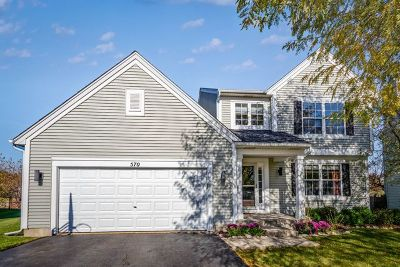 Single Family Home Price Change: 570 North Haverhill Lane