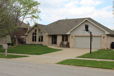 Orland Park Single Family Home For Sale: 18021 Alice Lane