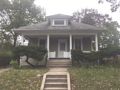 Elgin Single Family Home For Sale: 1121 Morton Avenue